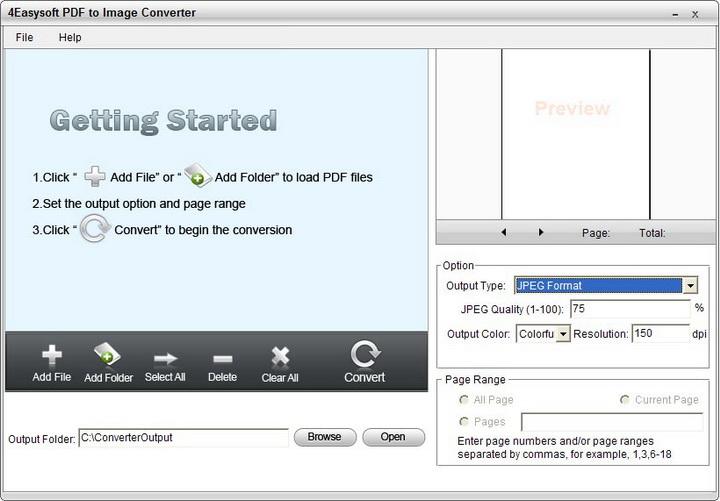 4Easysoft PDF to Image Converter