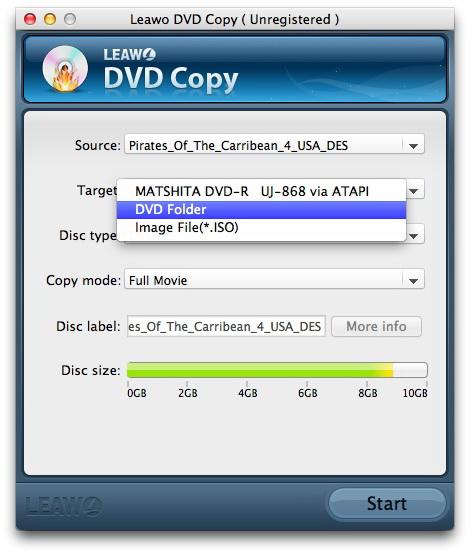 Leawo DVD Copy for Mac