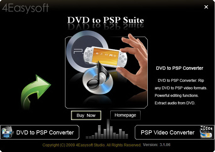 4Easysoft DVD to PSP Suite