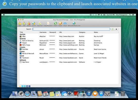 Easy Password Storage For Mac
