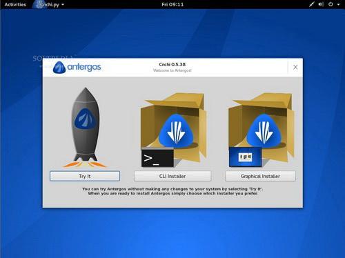 Antergos For Linux(32bit)