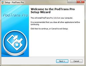 PodTrans Pro