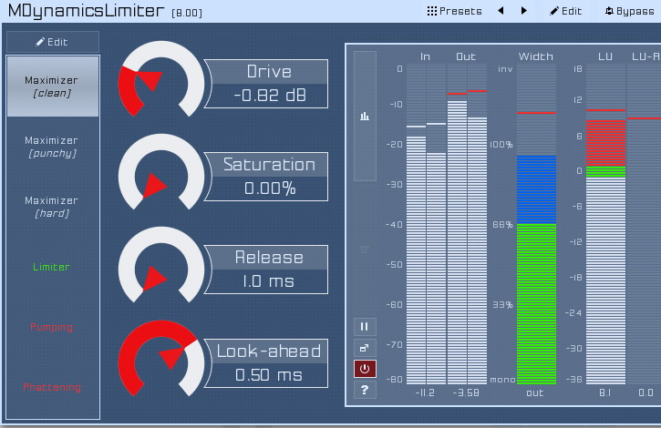 MDynamicsLimiter For Mac