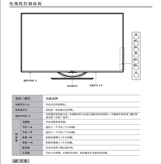 海信LED50K660X3D(RSAG2.025.3418SS V1.0)液晶彩电使用说明书