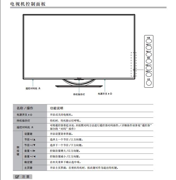 海信LED42K660X3D(RSAG2.025.3418SS V1.0)液晶彩电使用说明书