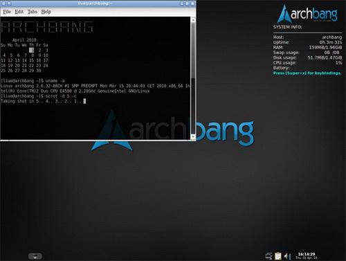 ArchBang For Linux(32bit)