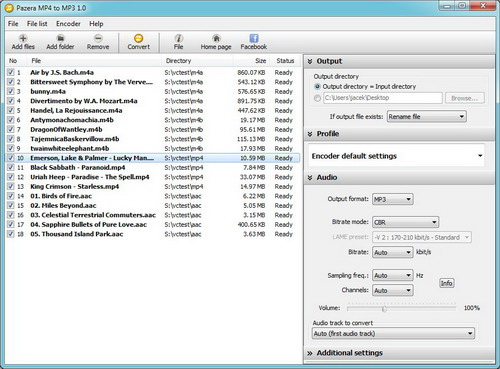 Pazera MP4 to MP3