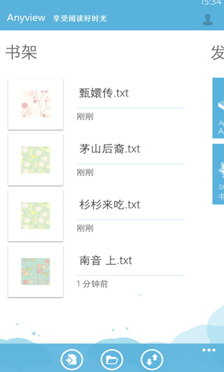 Anyview 阅读 For WP