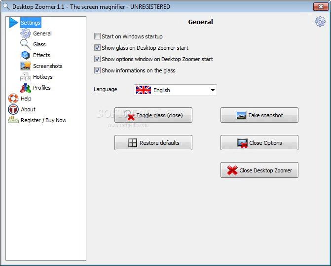 Desktop Zoomer portable(64bit)