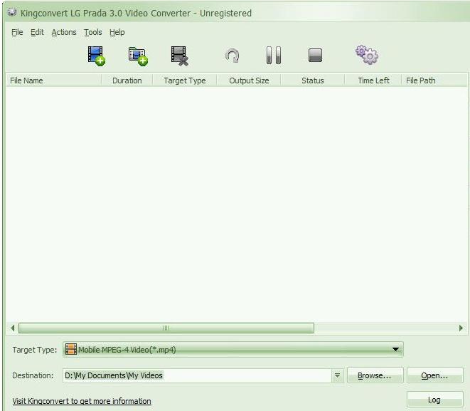 Kingconvert LG Prada 3.0 Video Converter