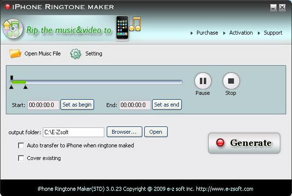 E-Zsoft iPhone Ringtone Maker