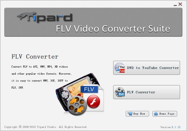 Tipard FLV Video Converter Suite