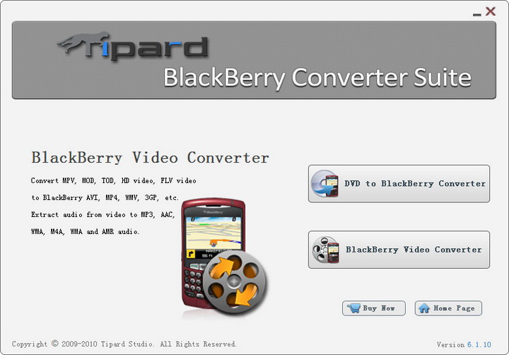 Tipard BlackBerry Converter Suite