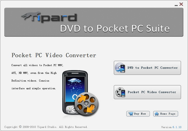 Tipard DVD to Pocket PC Suite