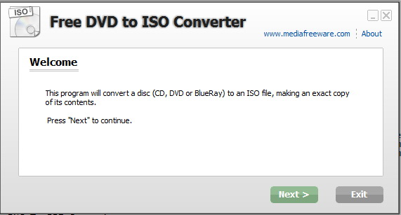 Free DVD to ISO Converter