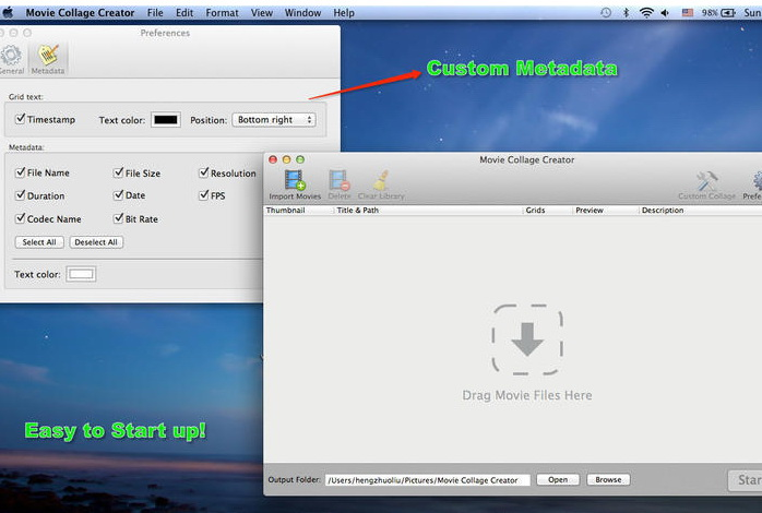 Movie Collage Creator For Mac