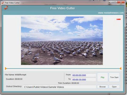 Media Freeware Free Video Cutter
