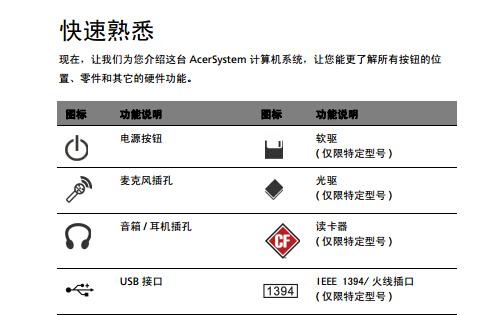 ACER宏基Aspire Z3760计算机说明书