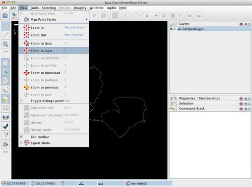 Java OpenStreetMap Editor For Mac