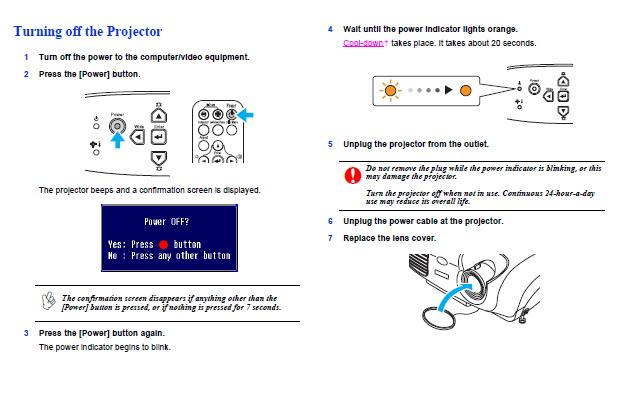 爱普生EMP-83投影仪使用说明书