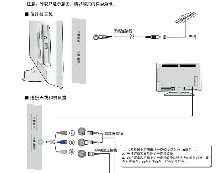 海尔37E2500U液晶彩电使用说明书