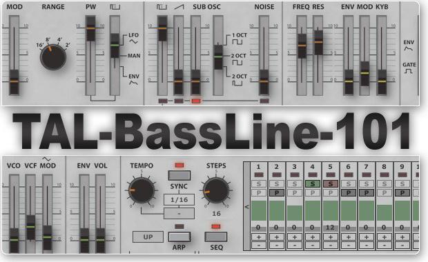 TAL-BassLine-101