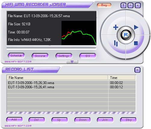 HiFi WMA Recorder Joiner