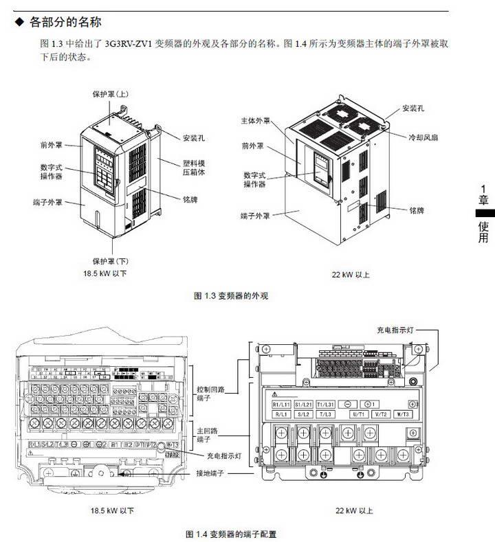 欧姆龙3G3RV-B4750-ZV1变频器说明书