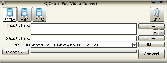 OJOsoft iPod Video Converter