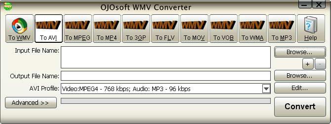 OJOsoft WMV Converter