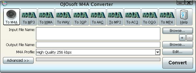 OJOsoft M4A Converter