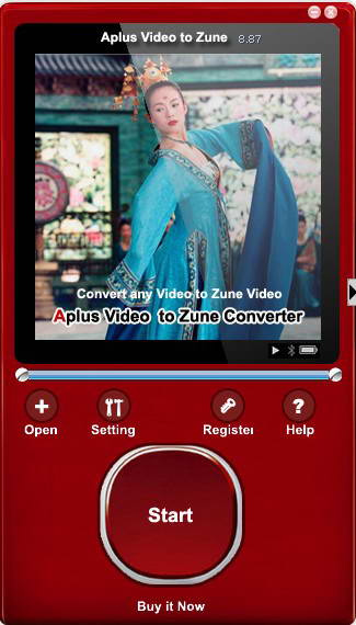Aplus Video to Zune