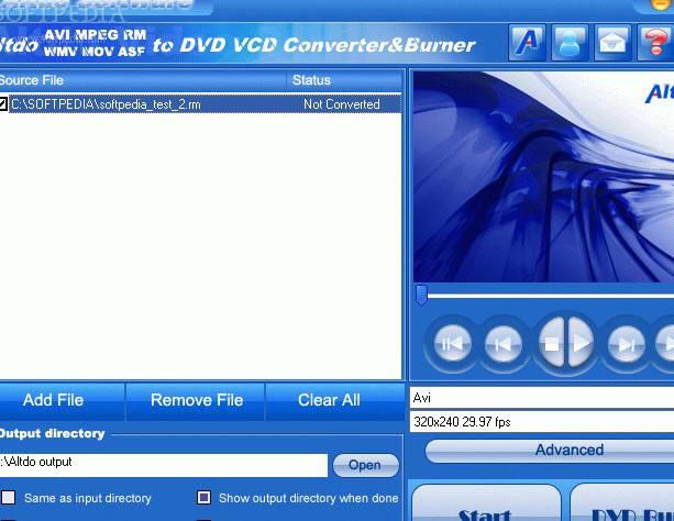 AVI MPEG FLV MOV RM WMV to WMV Converter