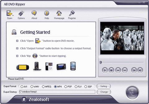Zealot All DVD Ripper