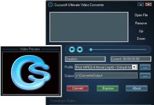 cucusoft Ultimate Video Converter