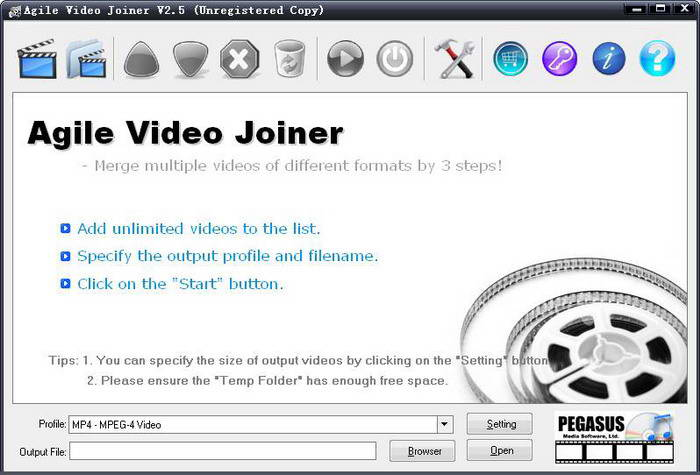 Agile Video Joiner