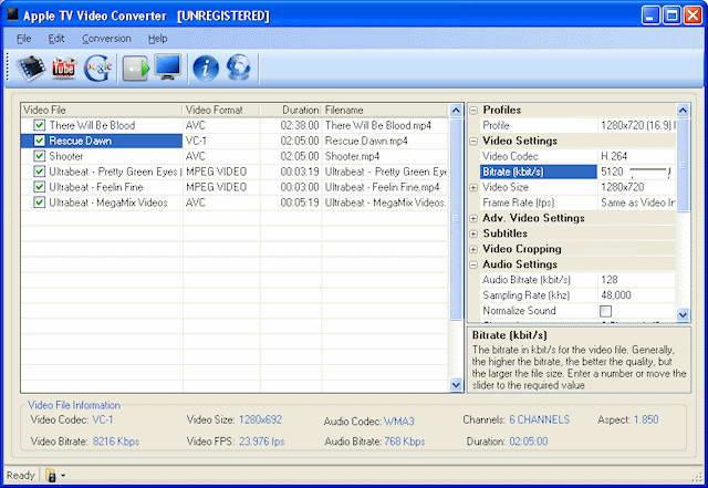 Jesterware Apple TV Video Converter