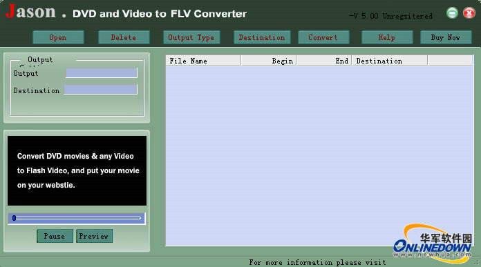 ASEEsoft DVD Video FLV Converter