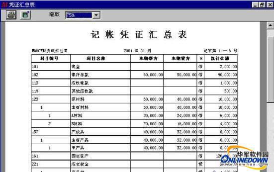 通用财务软件(中小企业)