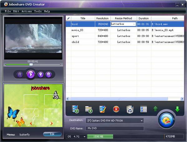 Joboshare DVD to iPod Ripper