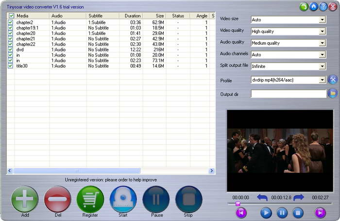 Tinysoar video converter
