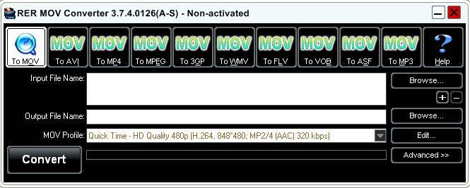 RER MOV Converter