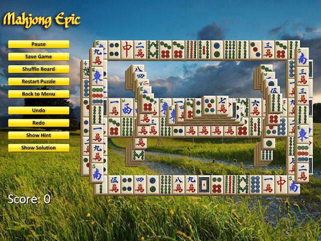 Mahjong Epic For Linux