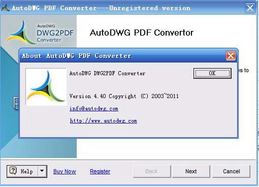 AutoDWG DWG to PDF Converter Pro