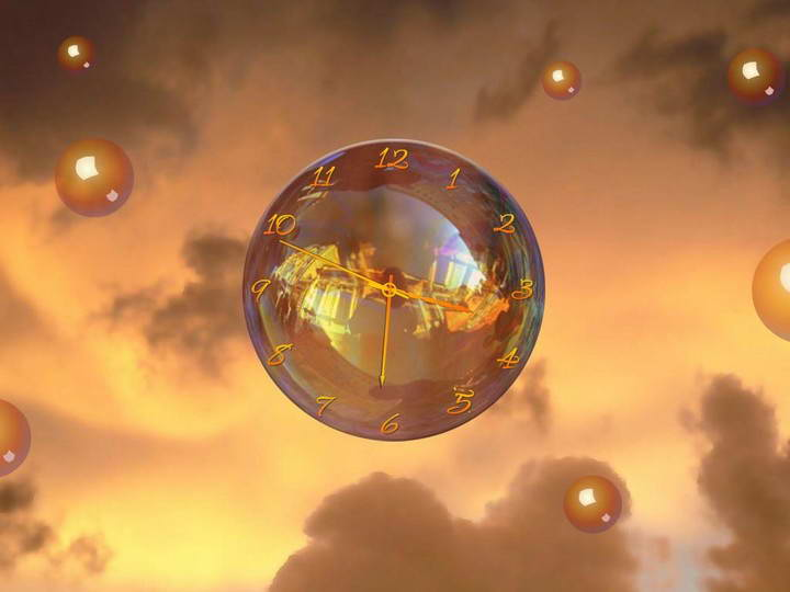 Magic Bubble Clock ScreenSaver
