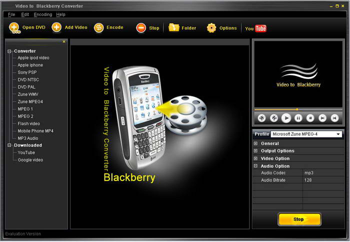 Clone2go Video to Blackberry Converter