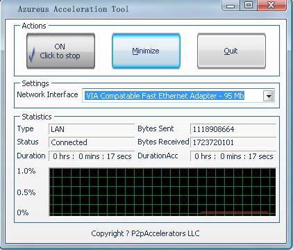 Azureus Acceleration Tool
