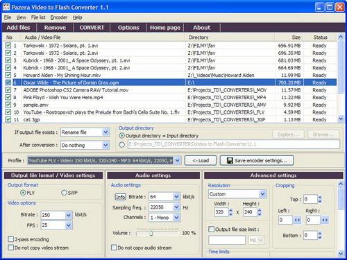 Pazera Free Video to Flash Converter