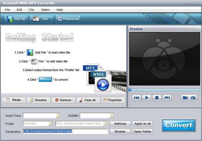 Aiseesoft WMA MP3 Converter