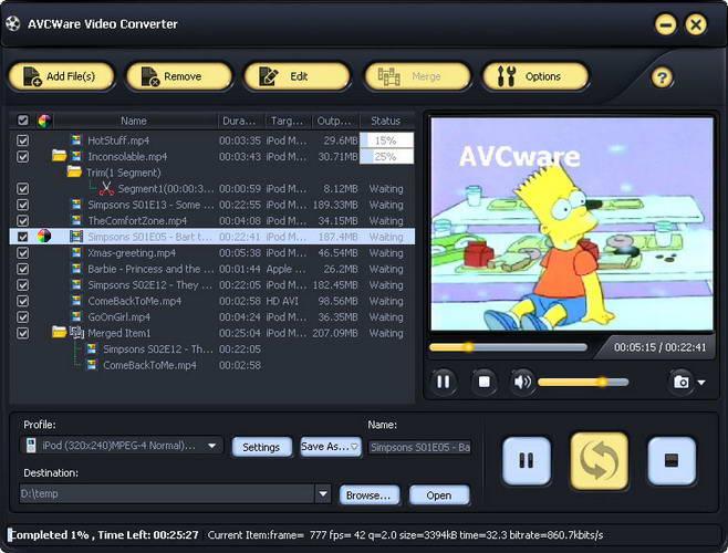 AVCWare Video Converter Ultimate